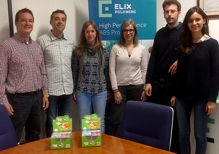 Reunion trabajo ELIX Polymers & Hug-me Group